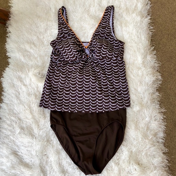 It Figures! Other - ❤️It Figures! Tankini, 2 piece•NWOT•Size 14